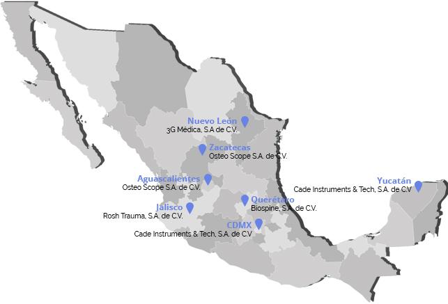 Distribuidores en México